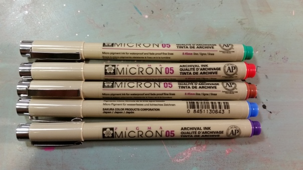 Pigma Microns Colored $19.99 Michaels